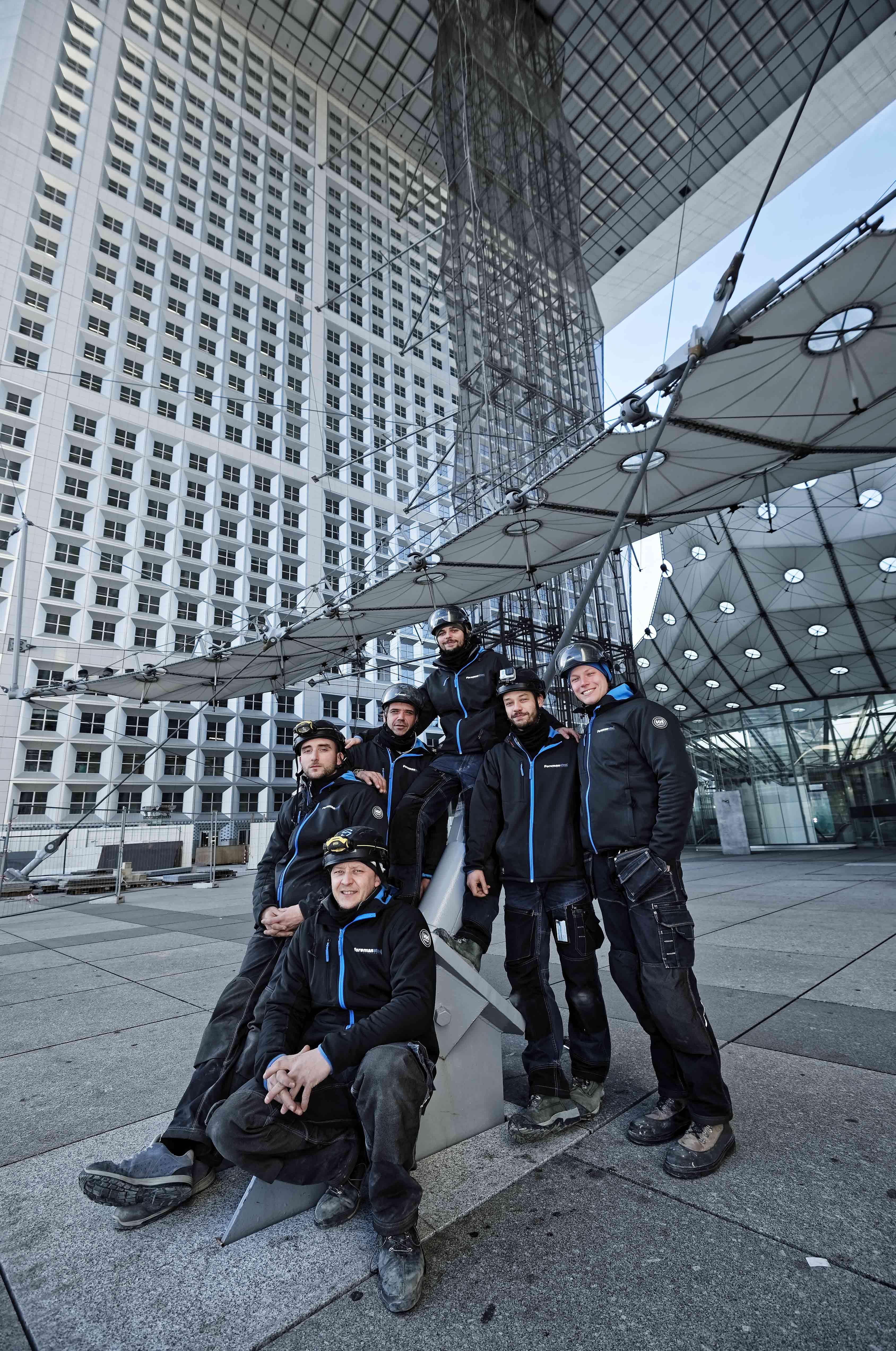 L'équipe Foremansteel composée de techniciens expérimentes dans la domaine de la sécurité